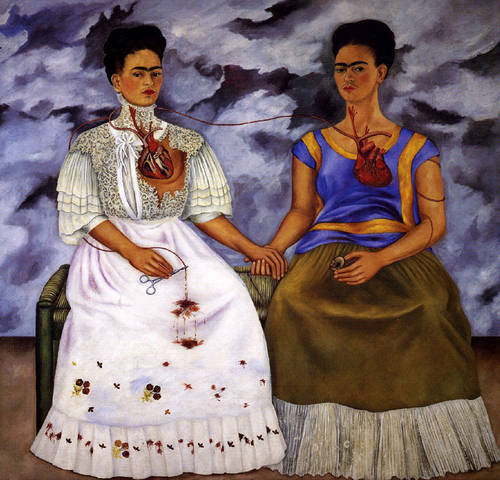 Frida Kahlo - The Two Fridas - 1939